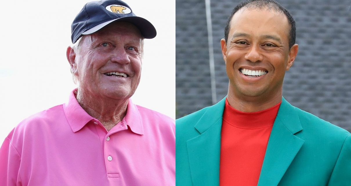 jack nicklaus or tiger woods  who is the greatest golfer
