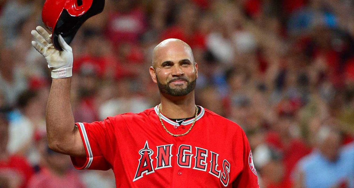 pujols albert furloughed angels employees salary mlb fronts report